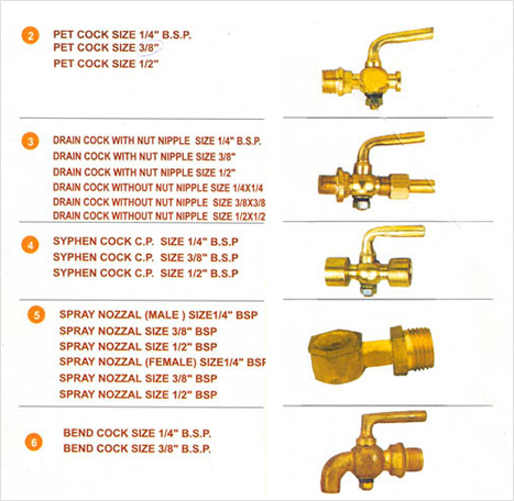 Brass Valves and Cocks