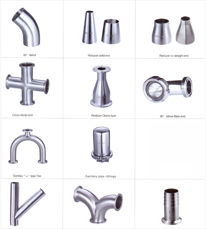 Dairy Pipe Fittings ss Dairy Pipe Fittings